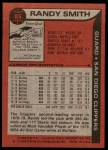 1979 Topps #85  Randy Smith  Back Thumbnail