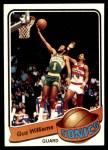 1979 Topps #27  Gus Williams  Front Thumbnail
