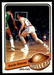 1979 Topps #34  Kevin Grevey  Front Thumbnail