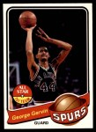 1979 Topps #1  George Gervin  Front Thumbnail