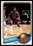 1979 Topps #48  Ray Williams  Front Thumbnail