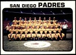 1973 Topps #316   Padres Team Front Thumbnail
