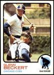 1973 Topps #440  Glenn Beckert  Front Thumbnail