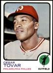 1973 Topps #405  Cesar Tovar  Front Thumbnail