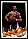 1979 Topps #54  Adrian Dantley  Front Thumbnail