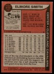 1979 Topps #117  Elmore Smith  Back Thumbnail