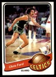 1979 Topps #124  Chris Ford  Front Thumbnail