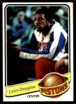 1979 Topps #126  Leon Douglas  Front Thumbnail