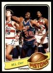 1979 Topps #107  M.L. Carr  Front Thumbnail