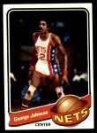 1979 Topps #39  George Johnson  Front Thumbnail
