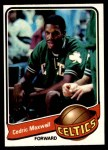 1979 Topps #23  Cedric Maxwell  Front Thumbnail