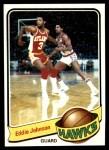 1979 Topps #24  Eddie Johnson  Front Thumbnail