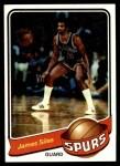 1979 Topps #74  James Silas  Front Thumbnail