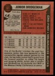 1979 Topps #91  Junior Bridgeman  Back Thumbnail
