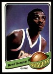 1979 Topps #50  David Thompson  Front Thumbnail