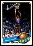 1979 Topps #111  Aaron James  Front Thumbnail