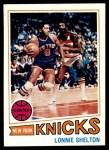1977 Topps #26  Lonnie Shelton  Front Thumbnail