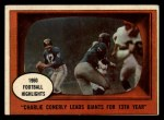 1961 Topps #94   -  Charley Conerly 1960 Football Highlights Front Thumbnail