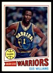 1977 Topps #89  Gus Williams  Front Thumbnail