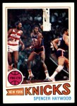 1977 Topps #88  Spencer Haywood  Front Thumbnail