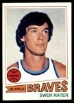 1977 Topps #92  Swen Nater  Front Thumbnail