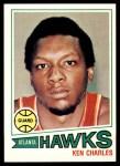 1977 Topps #24  Ken Charles  Front Thumbnail