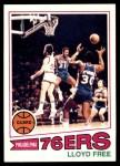 1977 Topps #18  Lloyd Free  Front Thumbnail