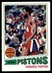 1977 Topps #102  Howard Porter  Front Thumbnail