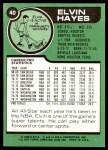 1977 Topps #40  Elvin Hayes  Back Thumbnail
