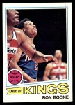 1977 Topps #119  Ron Boone  Front Thumbnail