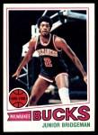 1977 Topps #114  Junior Bridgeman  Front Thumbnail