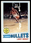 1977 Topps #112  Larry Wright  Front Thumbnail