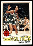 1977 Topps #125  Charlie Scott  Front Thumbnail