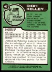 1977 Topps #67  Rich Kelley  Back Thumbnail