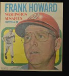 1970 Topps Poster #22  Frank Howard  Front Thumbnail