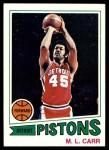 1977 Topps #47  ML Carr  Front Thumbnail