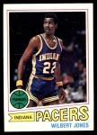 1977 Topps #63  Wilbert Jones  Front Thumbnail