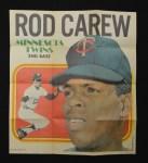 1970 Topps Poster #16  Rod Carew  Front Thumbnail