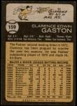 1973 Topps #159  Cito Gaston  Back Thumbnail