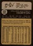 1973 Topps #433  Willie Horton  Back Thumbnail