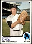 1973 Topps #394  Sparky Lyle  Front Thumbnail