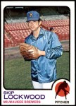 1973 Topps #308  Skip Lockwood  Front Thumbnail