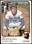 1973 Topps #414  Ken Rudolph  Front Thumbnail