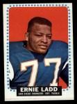 1964 Topps #163  Ernie Ladd  Front Thumbnail