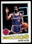 1977 Topps #87  Lucius Allen  Front Thumbnail