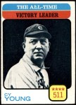 1973 Topps #477   -  Cy Young All-Time Victory Leader Front Thumbnail