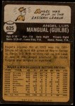 1973 Topps #625  Angel Mangual  Back Thumbnail