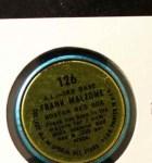 1964 Topps Coins #126   -   Frank Malzone All-Star Back Thumbnail