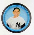 1963 Salada Metal Coins #62  Yogi Berra  Front Thumbnail
