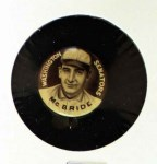 1910 Sweet Caporal Pins  George McBride  Front Thumbnail
